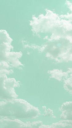 60 ideas aesthetic wallpaper iphone pastel mint for 2019 Mint Wallpaper, Iphone Background Wallpaper, Aesthetic Pastel Wallpaper, Aesthetic Backgrounds, Green Backgrounds, Aesthetic Wallpapers, Wallpaper Patterns, Kawaii Wallpaper, Trendy Wallpaper