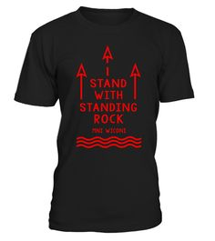 # Standing Rock Water is Life No DAPL .  NO DAPL! Support Native American Indian rights and oppose the Dakota Access Pipeline. Stand United with the Standing Rock Sioux Tribe and their struggle. Water is Life for humans, wildlife and mother nature! No to the pipeline! Featuring a Native American Indian among wild animals such as horses, a bear, a wolf and a beautiful eagle. Indian feathers hang from the STANDING ROCK text. Underneath is WATER IS LIFE.Support Standing Rock Sioux Nation and…