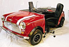 Cool Stuff We Like Here @ CoolPile.com ------- << Original Comment >> ------- Mini Cooper Desk