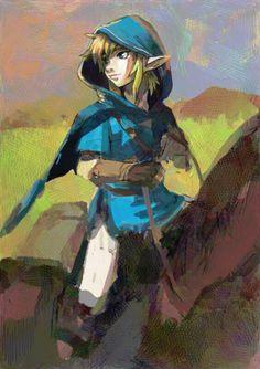 Breath of the Wild by @anokoid | #ZeldaBotW