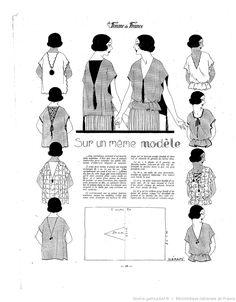 Les Modes de la femme de France 1922/02