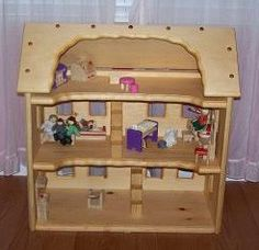 b411f3b26dd Items similar to Hand made for your little ones Wooden toy doll house