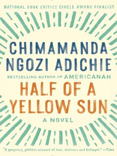 Half of A Yellow Sun (eBook) : Adichie, Chimamanda Ngozi : With effortless grace, celebrated author Chimamanda Ngozi Adichie illuminates a seminal moment in modern African history: Biafra's impassioned struggle to establish an independent republic in southeastern Nigeria during the late 1960s. We experience this tumultuous decade alongside five unforgettable characters: Ugwu, a thirteen-year-old houseboy who works for Odenigbo, a university professor full of revolutionary zeal; Olanna, the…