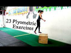 Plyometric exercises - 23 Plyo Variations - YouTube