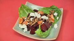 Roasted beet salad with clementines, toasted walnuts and goat cheese - News14.com