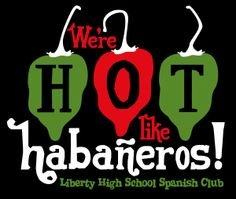 The new Spanish Club T-Shirts my kids and I are getting!!!