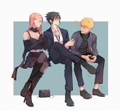   Save & Follow   Team 7 • Naruto Uzumaki • Sasuke Uchiha • Sakura Haruno • Naruto Shippuden