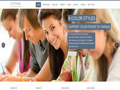 LT School Onepage is responsive One Page School Joomla free template tailored for university, college, education and school Joomla template websites. It is 100% responsive, clean and stylish, building with One Page template style. LT School Onepage comes with 6 colors schemes, but in fact it is really customizable, has drag and drop tools and color settings helping to create unique websites with various layouts.