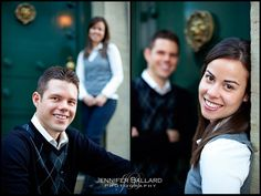 I like the one on the right for m/f adult siblings. (Jennifer Ballard Photography)