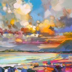 Luskentyre Harris print #watercolorarts