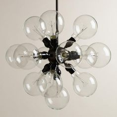 One of my favorite discoveries at WorldMarket.com: 13-Bulb Cluster Chandelier