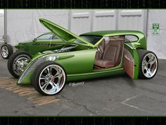 Foose design. Killer blend of old hot rod styling with new tech and design.