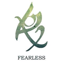 The Mortal Instrument Series-The Fearless Rune... I'm getting this as maybe a tattoo! Or the love rune.