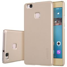 Nillkin for Huawei P9 Lite case Frosted Shield hard cover for Huawei P9 Lite phone cases for P9 Lite case +protective film