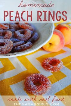 Homemade Peach Rings