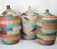 Woven hampers from Senegal | Dar Leone