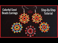 seed bead necklace patterns for beginners – Seed Bead Tutorials Seed Bead Tutorials, Beading Tutorials, Beading Patterns, Loom Patterns, Knitting Patterns, Beading Techniques, Crochet Patterns, Beaded Necklace Patterns, Beaded Bracelets