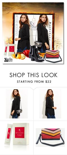 """SheIn 010"" by silvijo ❤ liked on Polyvore featuring ASOS and Bulgari"