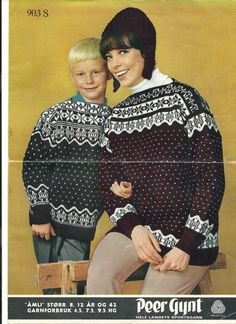 Åmli 903 S Colour Combinations, Christmas Sweaters, Knitting Patterns, Color, Fashion, Color Combos, Moda, Knit Patterns, Fashion Styles