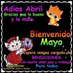 SUEÑOS DE AMOR Y MAGIA: Bienvenido Mayo