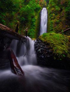 Gorton Creek Falls by Christina Angquico on 500px