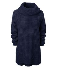 Gina Tricot - Ester knitted sweater Navy melange (5089)