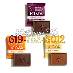 get these 45MG Kiva-minis before they're all out! The perfectly dosed treat for patients that have a low tolerance with edibles! Available in Blackberry Dark Chocolate, Vanilla Chai Milk Chocolate and Irish Mint Milk Chocolate! Call for yours! (619)-753-5012 #prop215 #patientsonly #notforsale #kiva #donate #edibles #wfayo #potent #bomb #cali #619 #760 #858 #callnow #sandiego #deliveryonly #wfayo #potent #kivaconfection #420 #215