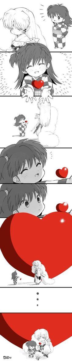 Rin And Sesshomaru, Inuyasha And Sesshomaru, Inuyasha Fan Art, Inuyasha Love, Animes Yandere, Anime Japan, Anime Couples Manga, Handsome Anime, Anime Fantasy