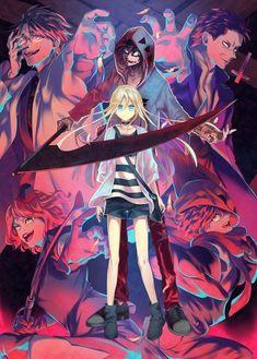 Otaku Anime, Manga Anime, Anime Art, Angel Of Death, Dark Fantasy, Collage Mural, Super Anime, Japanese Horror, Rpg Horror Games
