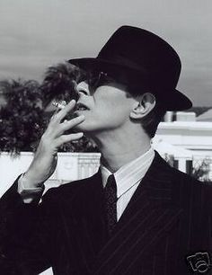 David Bowie 1975 Hat 10x8 Photo