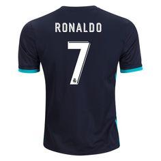 f7708a4ad5d 2017 2018 Cristiano Ronaldo Jersey Number 7 Away Men s Replica Real Madrid  Soccer Cristiano Ronaldo