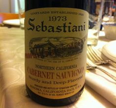 Sebastiani Winery - Sonoma, California - 1973