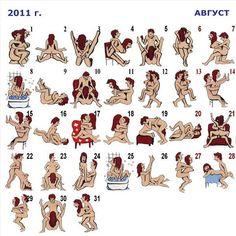 Calendar position sex