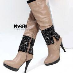 Kvoll unusual fashion boots for women
