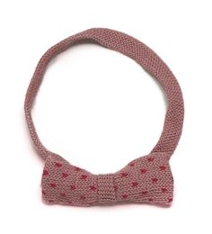 polka dot bow headband by Oeuf // at Darling Clementine
