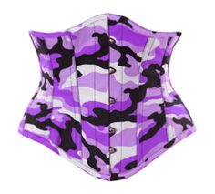 Purple Camo Waspie from Lone Star Pin-up's Corset Boutique  http://www.corsets.lonestarpinup.com