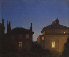 ‡SIR GEORGE CLAUSEN R.A. (1852-1944)  Summer Night, St John's Wood