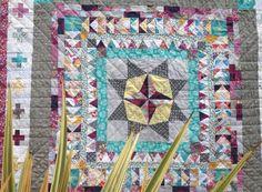 M is for make: Made: Medallion quilt