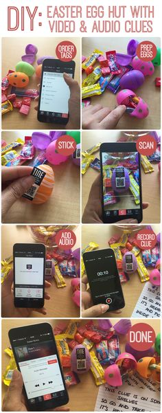 Use TINE for your upcoming Easter egg hunt. Download the TINE app at tinetag.com and buy tags at http://www.tinetag.com/shop