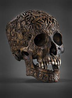 Planet Obscura® presents: Screaming Skulls Weird Club: Carved Tibetan Skulls