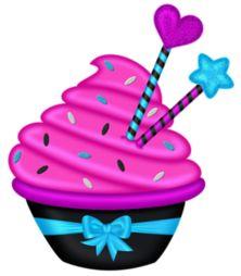 "Photo from album ""Emo_Girl"" on Yandex. Cupcake Clipart, 2 Clipart, Cupcake Pictures, Cupcake Images, Cupcake Cones, Cupcake Art, Birthday Quotes, Birthday Wishes, Happy Birthday"