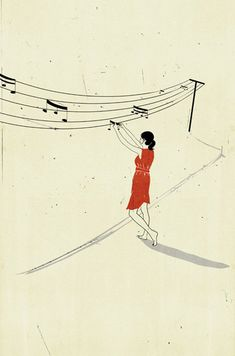 Playful illustration by Alessandro Gottardo.