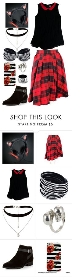 """Going Out"" by lucy-wolf ❤ liked on Polyvore featuring D&G, Slater Zorn, New Look, Alexander McQueen and West Coast Jewelry"