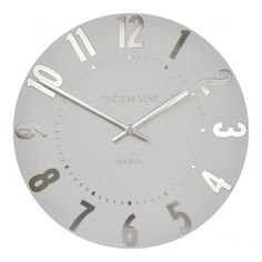 There S Always A Silver Lining With The Thomas Kent Mulberry Clock Cloud 12 Inch This Wall From Red Candy
