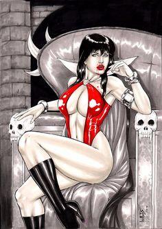 Vampirella by Leo Matos - Ed Benes Studio