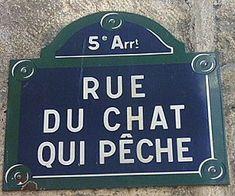 rue du Chat-qui-Pêche - Paris 5ème