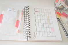 DIY notebook, caledar...