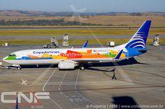 Boeing 737-800 Copa Airlines HP-1825CMP   por CNF ao vivo