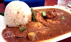 "Mix curry  (""Kaeru shokudou"" in Tokyo)"