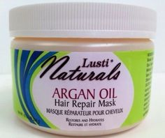Lusti Naturals Argan Oil Hair Repair Mask, Restores and Hydrates, 10 Oz ** You can get additional details at the image link.